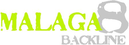 Malaga 8 Backline